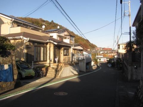 旧東海道 山西