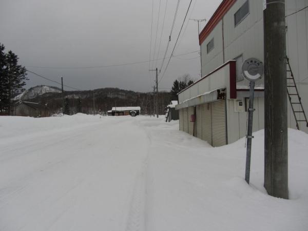 下幌加内バス停