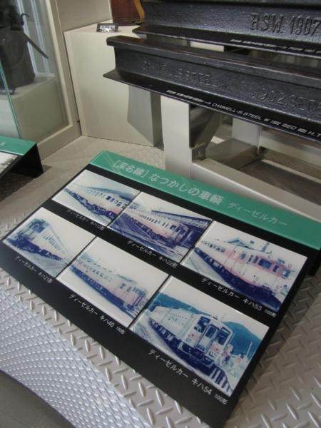 旧JR深名線資料展示室