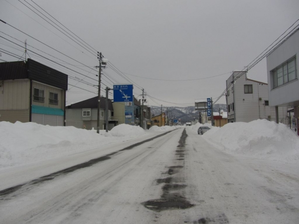 幌加内市街