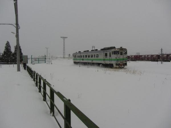 西永山駅跡付近