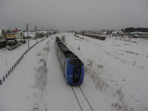 北旭川駅付近