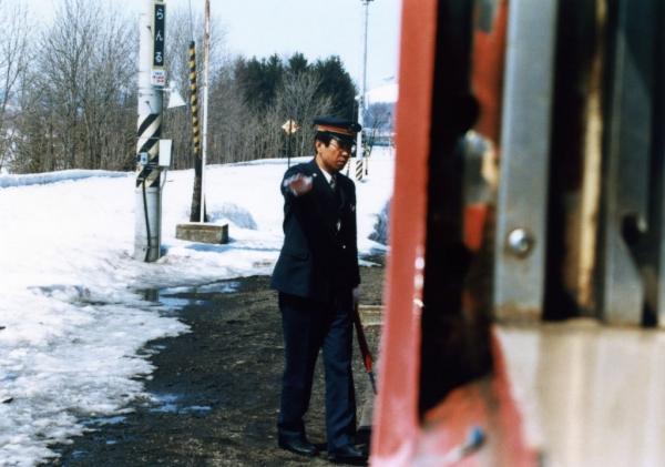 蘭留駅_1980年代