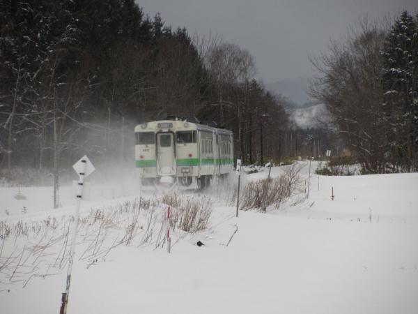 札沼線(知来乙~月ヶ岡)