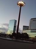 大阪城ホール近く