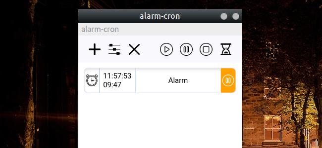 Alarm Cron 新しいアラーム