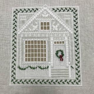 完成クリスマスハウス1枚目
