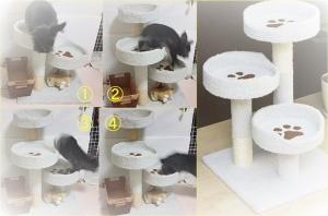 猫タワー合成 (2)