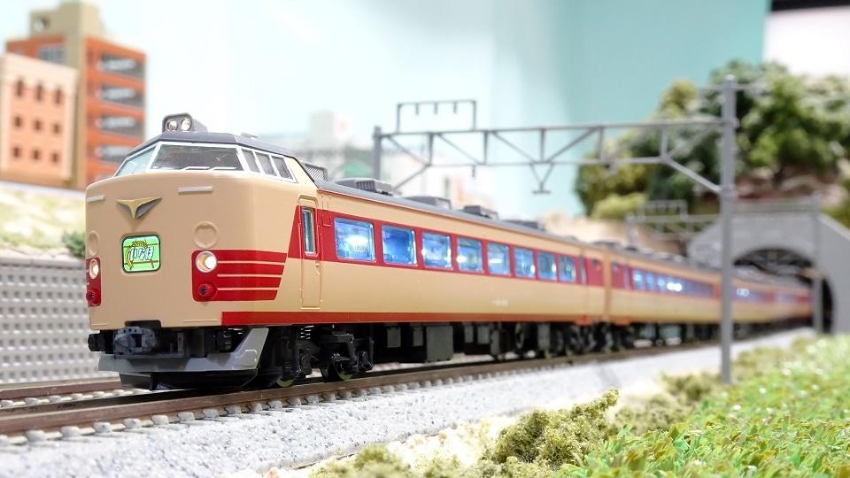 JR 485系特急電車(新潟車両センター・T18編成)