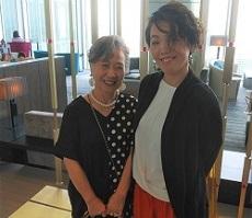 6月 綾子&ターニャさん