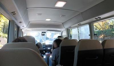 11月10日 バスの中