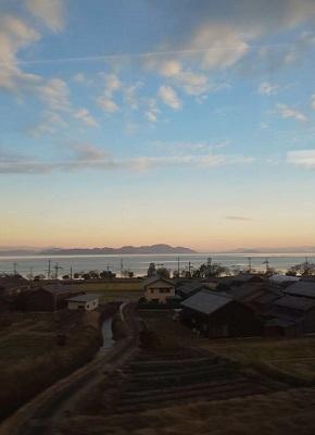 12月 ガンダーリ 琵琶湖写真