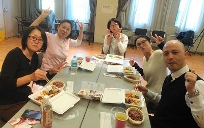 12月 ガンダーリ お弁当 みんな③