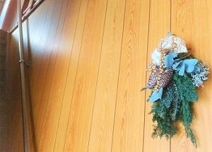 12月 クリスマス 玄関
