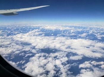 2020 バリ 飛行機 窓