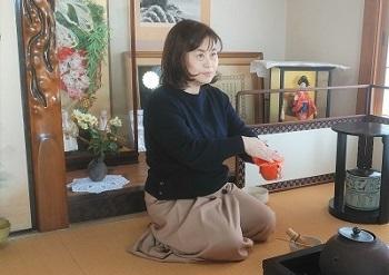 2020 2月 雅子さん 手