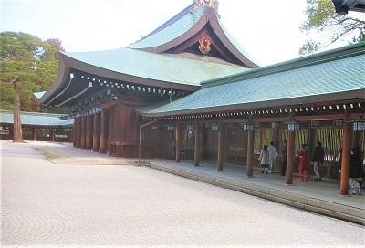 2020 2月 橿原神宮 正式参拝