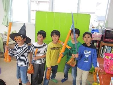 学童ハロウィン2019-8
