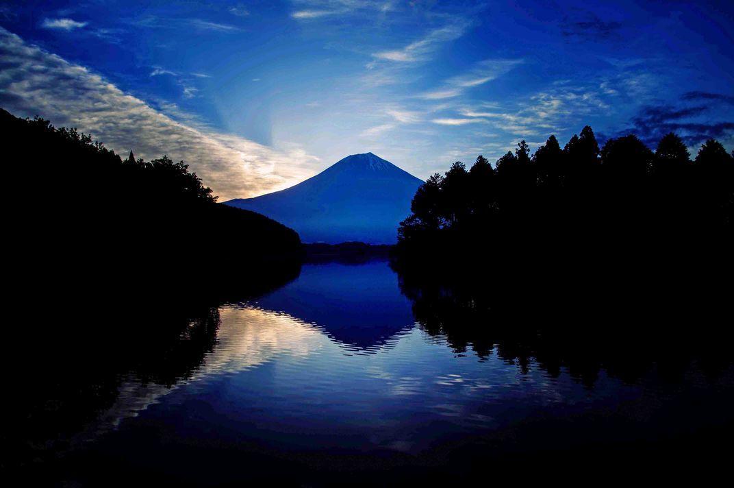 ④「薄明富士山」