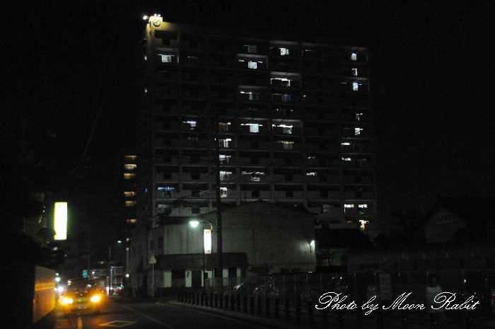 マルイラベンダーヒルズの夜景 愛媛県西条市大町1660-2