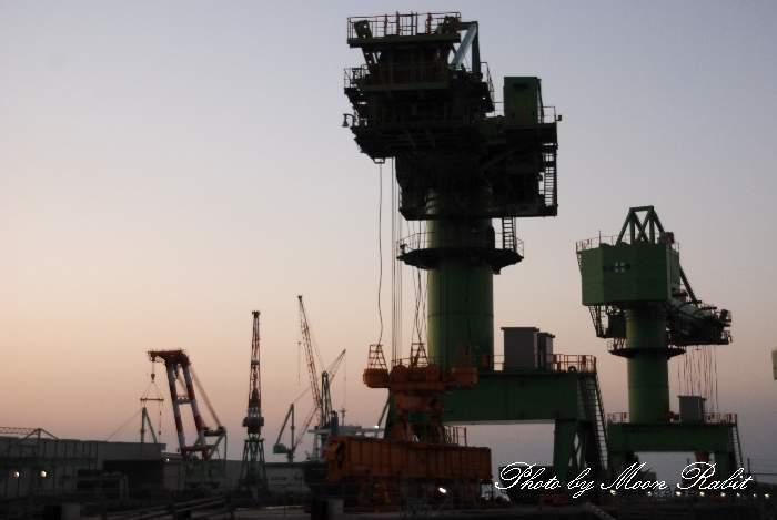 今治造船株式会社西条工場東ひうち事業部 愛媛県西条市ひうち 東ひうち29番
