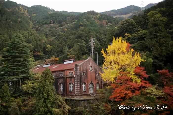 旧端出場水力発電所 マイントピア別子 愛媛県新居浜市立川町