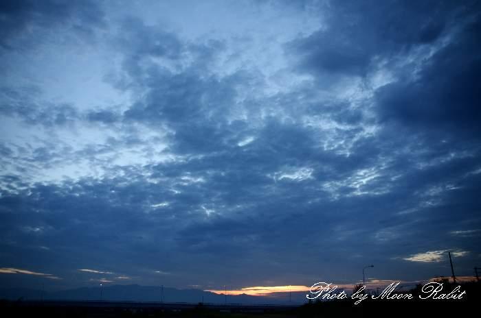 雲の表情 愛媛県西条市古川