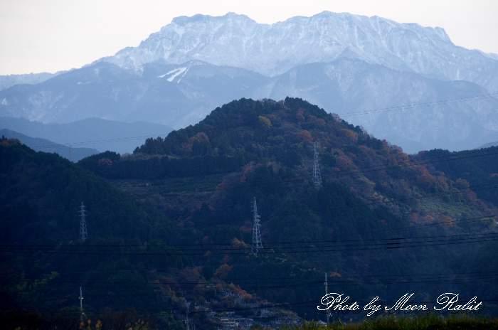 冬の石鎚山 愛媛県西条市上喜多川