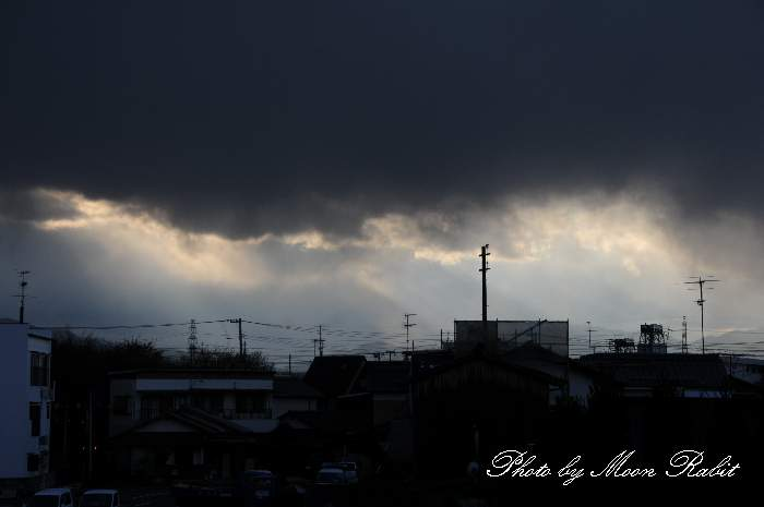 雲の表情 愛媛県西条市神拝