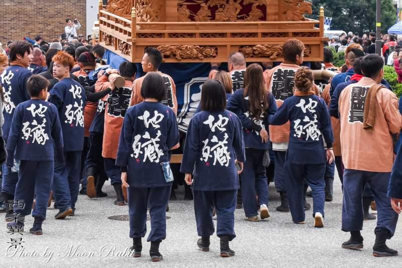地蔵原だんじり(屋台) 祭り装束