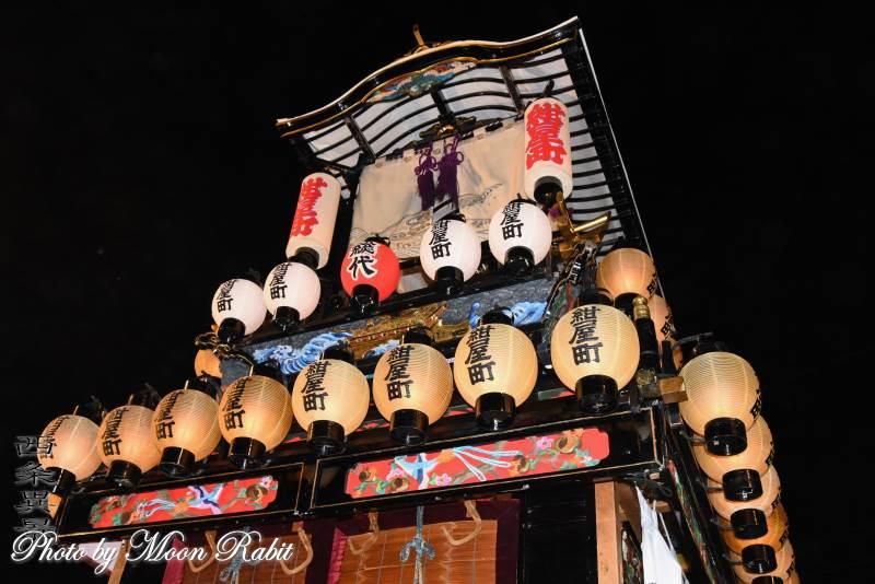 紺屋町屋台(紺屋町だんじり) 祭り提灯