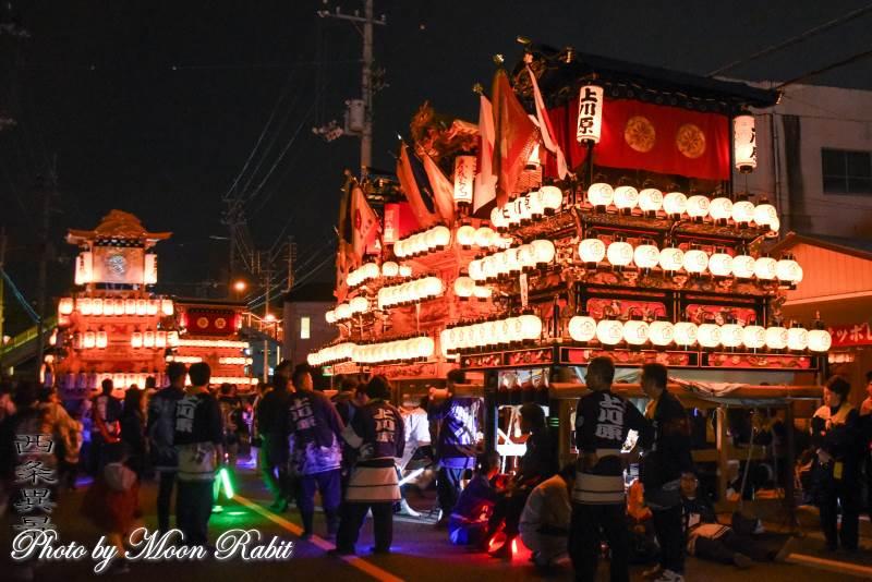 上川原だんじり(屋台) 神拝後夜祭