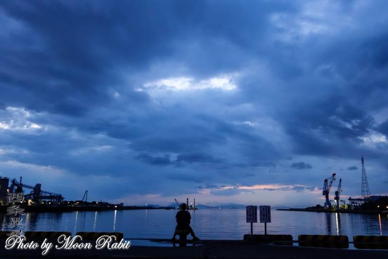 西条港と散歩 愛媛県西条市新堀下