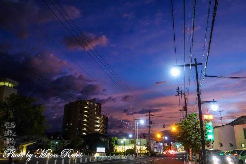 街並み 愛媛県西条市上神拝