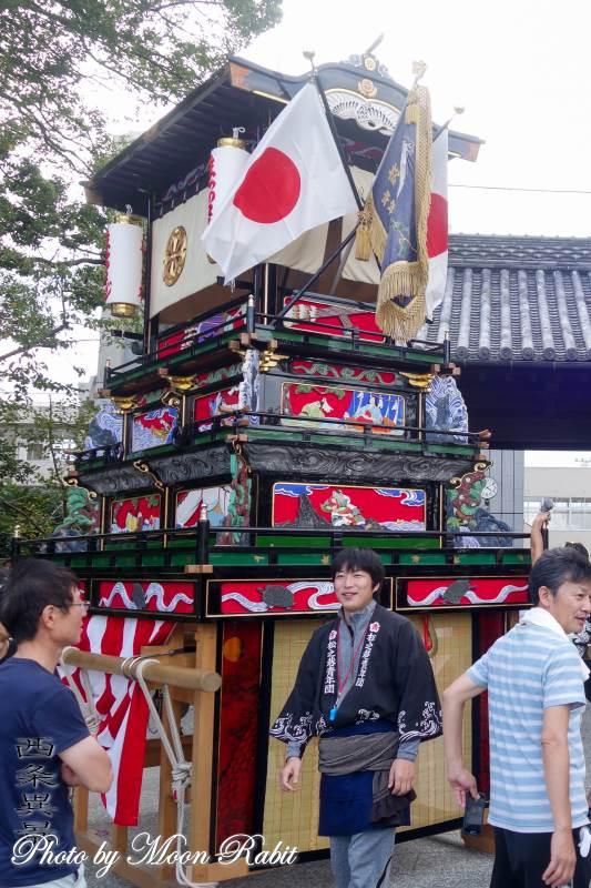 松之巷だんじり(屋台) 御殿前 伊曽乃神社祭礼 西条祭り 愛媛県西条市