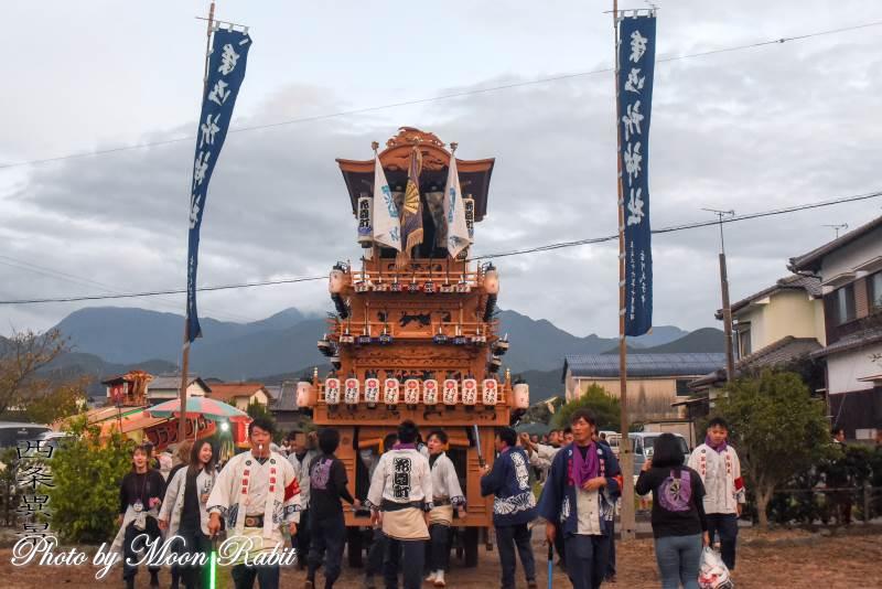 御所神社祭 花園町だんじり(屋台)
