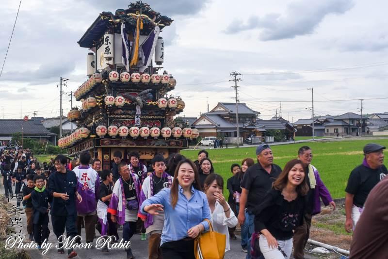 橘新宮神社祭 東原だんじり(屋台)