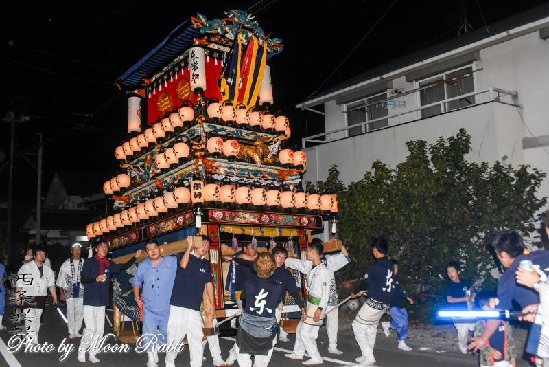 東常盤だんじり(屋台) 常盤祭2018