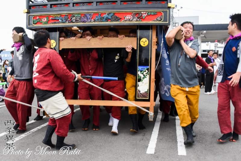 えびす会屋台(だんじり) 祭り装束 鶴岡八幡神社祭礼