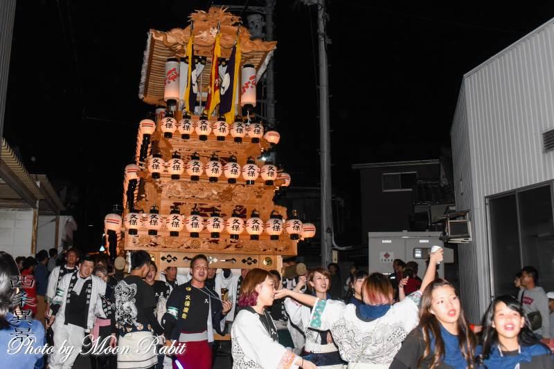 久保だんじり(屋台) 氷見地区前夜祭