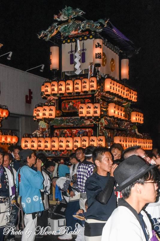 山道だんじり(屋台) 氷見地区前夜祭