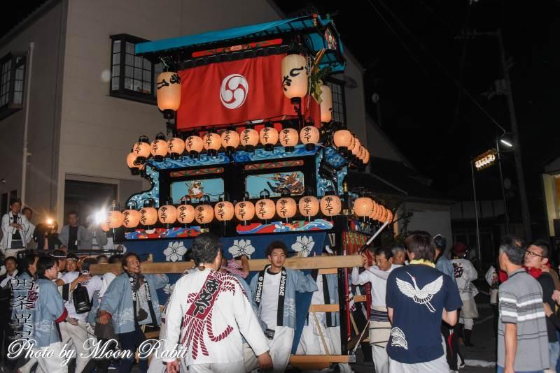 寺之下だんじり(屋台) 氷見地区前夜祭