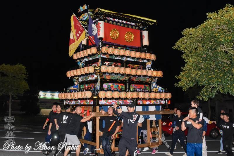 魚屋町だんじり(屋台) 前夜祭
