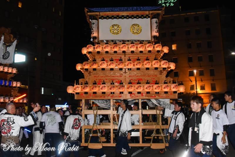 加茂町だんじり(屋台) 前夜祭