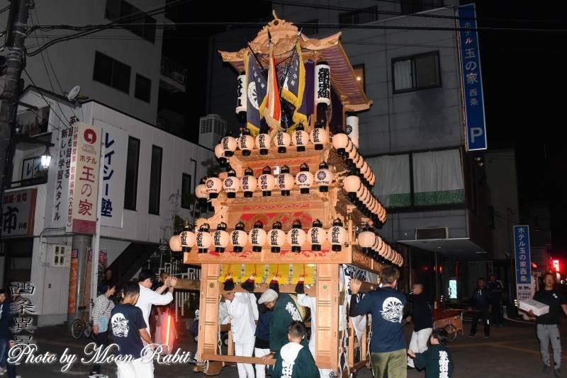 栄町中組だんじり(屋台) 前夜祭