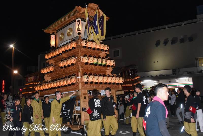 登道だんじり(屋台) 前夜祭