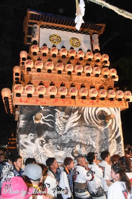 加茂町だんじり(屋台) 西条祭り