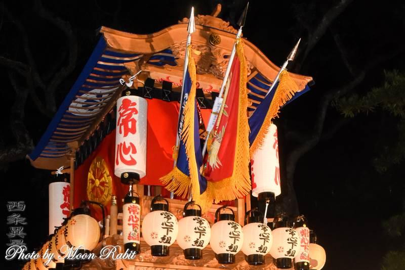 中南屋台(だんじり) 祭り提灯
