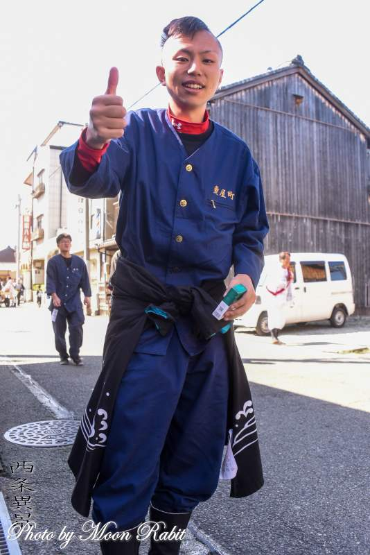 魚屋町だんじり(屋台) 祭り装束