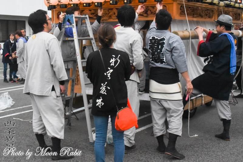 新宮藤木だんじり(屋台) 祭り装束